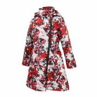 HUPPA coat LUISA 40g white rose pattern 1243BS16-620